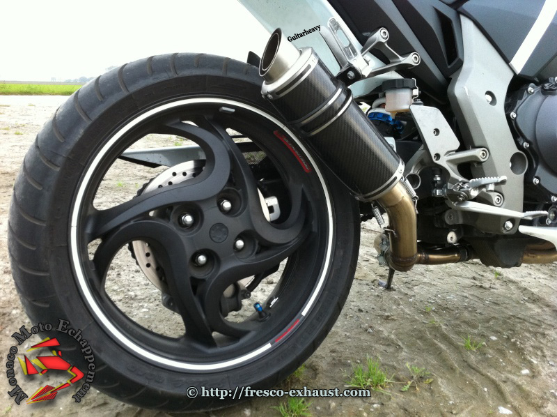 CB1000R Rond court carbone