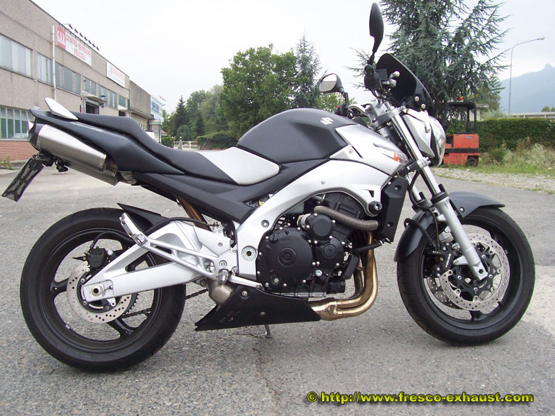 GSR600 Double full carbone