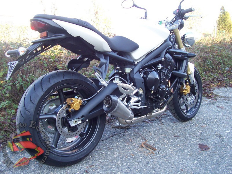 Street Triple 675 Conique Ovale GP Style
