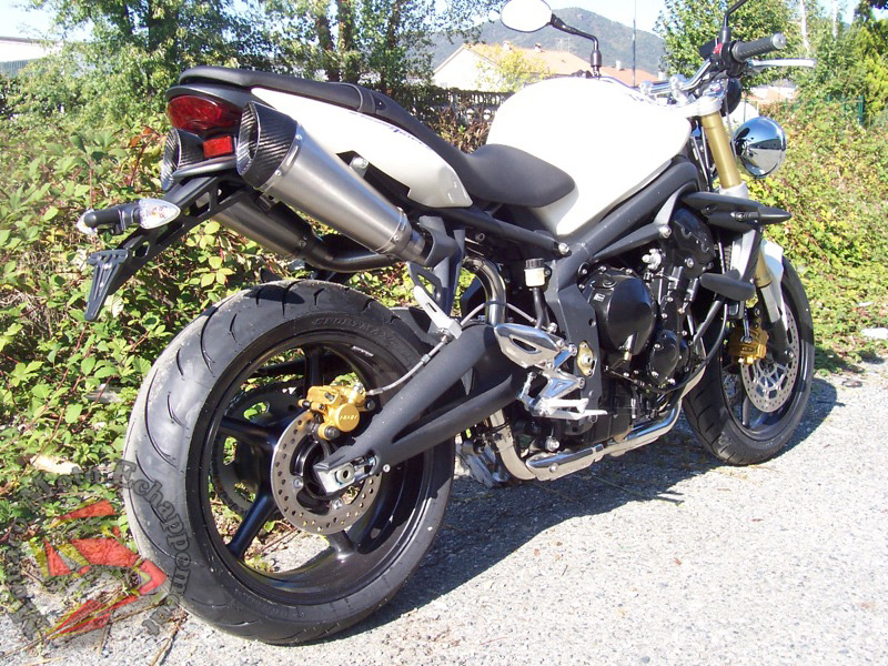 Street Triple 675 Double conique ovale