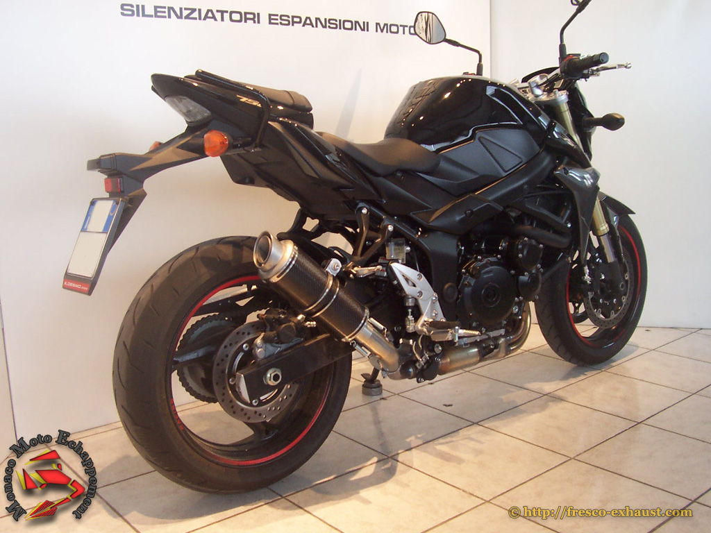 GSR 750 Rond court carbone