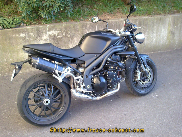 Speed Triple 1050 Double full carbone