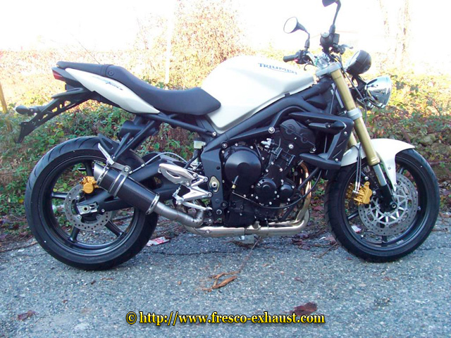 Speed Triple 1050 Rond court carbone