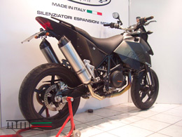 690 Super Moto Full carbone