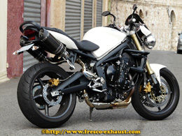 Street Triple 675 Double Full carbone