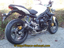 Street Triple 675 Rond court carbone GP Style