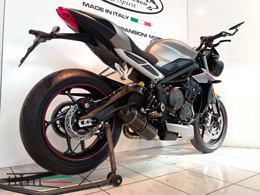 Street Triple 765 S R RS Full carbone GP Style