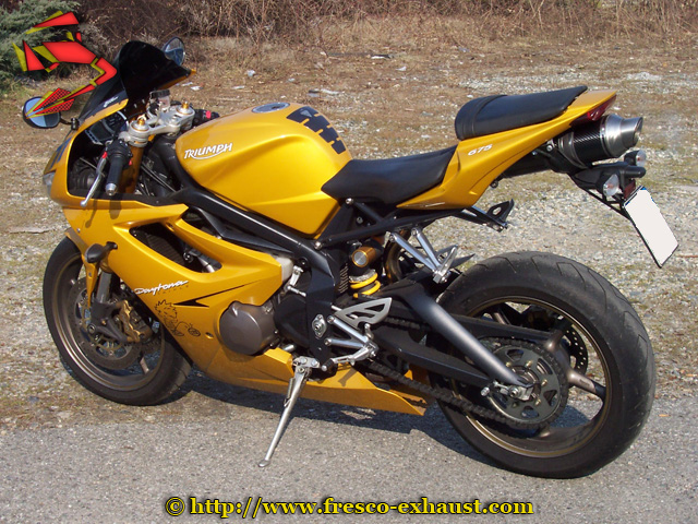Daytona 675 Oval carbone